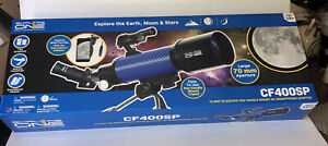 Explore One CF400SP Astronomy and Terrestrial Telescope with 20x to 67x Magni...