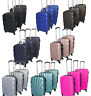 NEW Hard shell Expandable Suitcase 4 Wheel Lightweight Luggage Travel Cabin