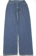 *L.L. BEAN* SIZE 14T WOMEN'S SLIM LEG MEDIUM BLUE ZIP FLY 100% COTTON JEANS