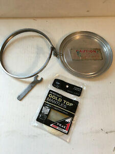 Coleman Lantern Safe w Wrench & Band, Mantles for 220F and others