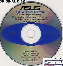 ASUS GENUINE VINTAGE ORIGINAL DISK FOR K8N-DL Motherboard Drivers Disk S096
