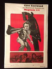MAGNUM FORCE (1973) * DIRTY HARRY * CLINT EASTWOOD * ARGENTINE 1sh MOVIE POSTER