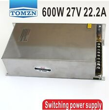 600W 27V 22.2A 220V input Single Output Switching power supply
