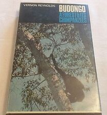 Budongo A Forest & It's Chimpanzees Fine Copy in D/J