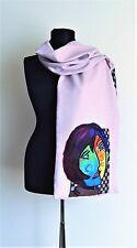 merino filz,felted scarf,camomile,weft,blanket shawl,ladies,wickeln,Halstuch