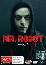 Mr. Robot : Season 2 (DVD, 2017, 4-Disc Set)