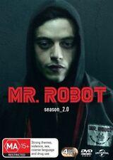 Mr. Robot : Season 2 (DVD, 4-Disc Set) NEW