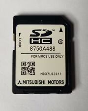 ORIGINAL MITSUBISHI MMCS E-11 E-12 W-13 SD CARD NAVIGATION SAT NAV MAP 8750A488