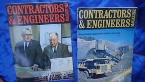 CONTRACTORS & ENGINEERS MAGAZINE 1969 Construction Equipment Advertising Lot =2
