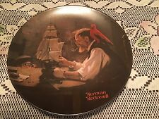 "Knowles 8.5"" Norman Rockwell The Ship Builder 1980 4Th In Heritage Collection"