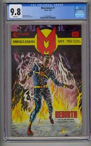MIRACLEMAN #1 CGC 9.8 WHITE PAGES!!! (8022)
