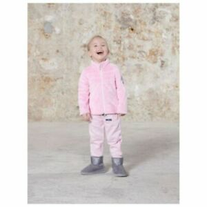 Poivre Blanc Girls Supersoft Fleece Jacket - Angel Pink