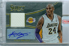 KOBE BRYANT 2013-14 SELECT JERSEY AUTOGRAPHS! LAKERS! FREE SHIP!