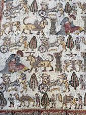 Tissu imprimé Ancien Moyen Orient IRAN Textile ancien Ancien Antique