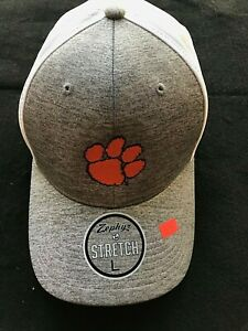 Clemson Tigers 2020 Championship Two Tone Stretch Hats 3 Sizes Zephyr 60% OFF