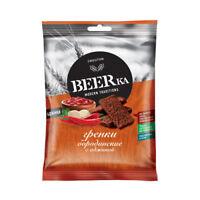 BEERka Rye Snack with Adjika Flavor 60g, made in Russia