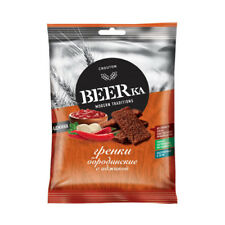 BEERka Rye Snack with Adjika Flavor 60g, made in Russia