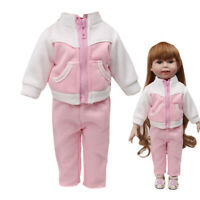 Fashion Sportswear Set For 18 Inch American Doll Clothes Accessory Girl's Toy