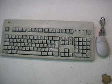 Apple Extended Keyboard II M3501 1995 + Apple Desktop Bus Mouse II M2706