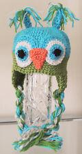 Handmade Crochet Owl Hat For Baby