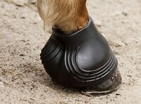 Acavallo Gel HOOF BOOTS Over Reach Shoe Coverage/Heel & Bulb Protection Cob/Full