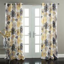"Lush Decor Leah Floral Darkening Panel Set for Living Room, Etc 52""W X 95"" L"