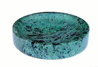 Natural Marble Stone Soap Dish for Bath, Tub, Wash Basin Green