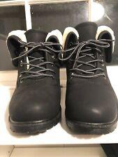 Black Fuzzy Boots Size 9.5