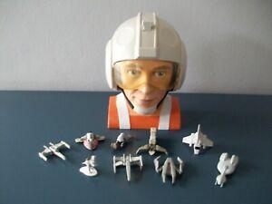 Star Wars Micro Machines Rebel Pilot Playset With Vehicles Galoob 1996