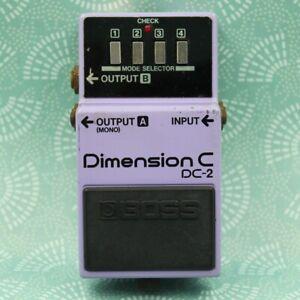 BOSS DC-2 Dimension C Made in Japan Chorus Guitar Effect Pedal