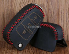 Genuine Leather Car Key  Case Bag For Audi  Q3 A1 A3 Q7 A3 S3 R8