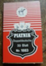 Piatnik Doppeldeutsche 33 blatt No 1883 vintage playing cards