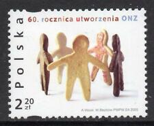 POLAND MNH 2005 SG4203 60th Anniversary of United Nations