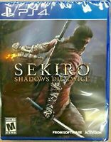 SEKIRO: SHADOWS DIE TWICE   PS4   2019 GAME OF THE YEAR  BRAND NEW  MUST-OWN!!!