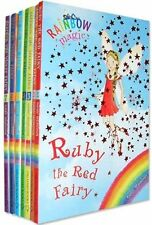 Rainbow Magic Colour Fairies 7 Books Collection Set