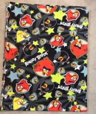 FLEECE FABRIC - Juvenile Print - Angry Bird Characters  - 2 yds