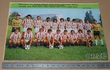 CLIPPING POSTER FOOTBALL 1980-1981 D2 AS CANNES LA BOCCA