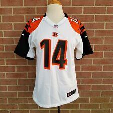 NFL Cincinnati Bengals Andy Dalton #14 Nike On Field Women's Jersey Size L