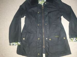 Barbour Country Cottage Wax Coat Ladies size 12