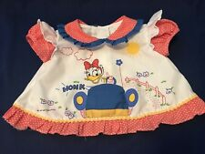 VINTAGE  Disney Infant Girls Daisy Duck shirt 0-3 Mos or  DOLL Shirts  SQUEEKS!!