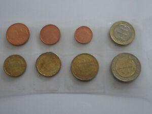 EUROS SERIE COMPLETE SLOVAQUIE 2009