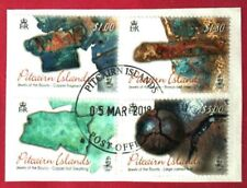 """PITCAIRN ISLANDS 2018 JEWELS OF THE """"BOUNTY"""" FINE USED SET"""