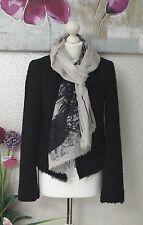 """Vêtement Occasion femme... Veste en Laine """" Promod """" + Foulard ... T : 38"""
