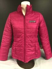 Juniors Size Small Pink Puffer Jacket Ipfw University College Logo
