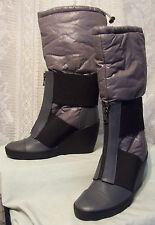 PUMA BY HUSSEIN CHALAYAN STRELKA GRAY Wedge HEEL BOOTS WOMENS Juniors 3.5