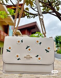 NWT Coach Klare Crossbody With Daisy Embroidery Mom's Gift