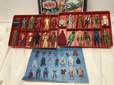 Vintage Kenner Star Wars Lot of 24 Loose Figures - Includes ESB Case Boba Fett