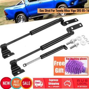 3x Tailgate Gas Strut Support & Front Bonnet For Toyota Hilux Vigo SR5 05-09