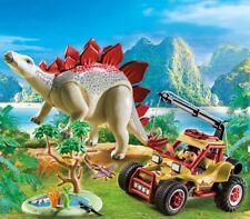 PLAYMOBIL® 9432 Explorer mobile with stegosaurus - NEW 2018 - S&H FREE WORLDWIDE