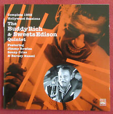 BUDDY RICH & SWEETS EDISON QUINTET CD COMPLETE 1955 HOLLYWOOD SESSIONS